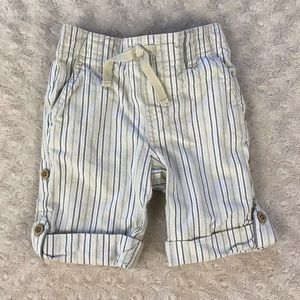 Janie and Jack Striped Pants Shorts Convertible